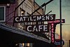 Cattlemen's Cafe has been in Oklahoma City since 1910. It is the oldest continually operating restaurant in Oklahoma.<br /> © Cindy Clark