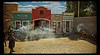 A reenactment of the gunfight at the OK Coral, Tombstone, AZ.<br /> Photo © Cindy Clark