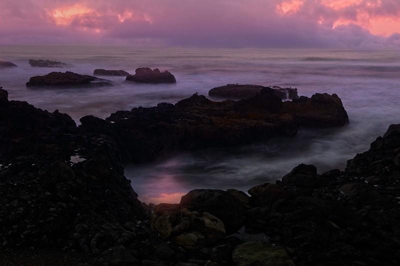 Rocky beach in Yachats, Oregon.<br /> © Cindy Clark