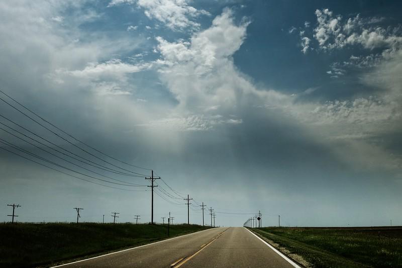 Along Kansas state Highway 4. <br /> © Cindy Clark