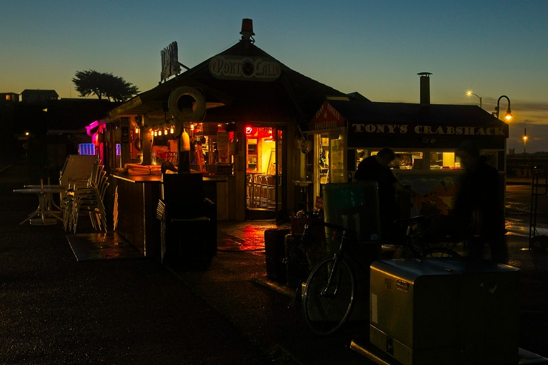 Evening at the marina in Bandon, Oregon.<br /> © Cindy Clark