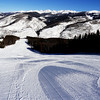 Fresh Groomed Ski Trails in Vail Colorado