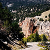 Narrow Roads lead to beautiful scenery in Colorado
