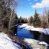 Eagle River near Edwards Colorado