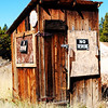 Nice outhouse in Colorado