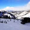 A beautiful ski day at Vail Colorado