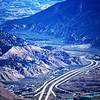 Interstate Highway I70 near Eagle Colorado