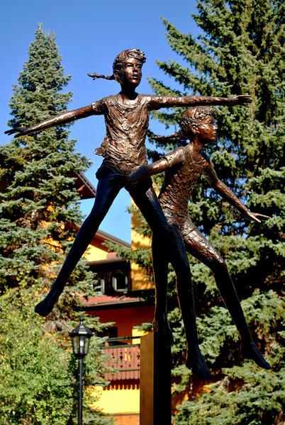Sculpture in Vail Colorado