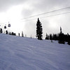Cloudy Day with Fresh Snow at Vail Colorado