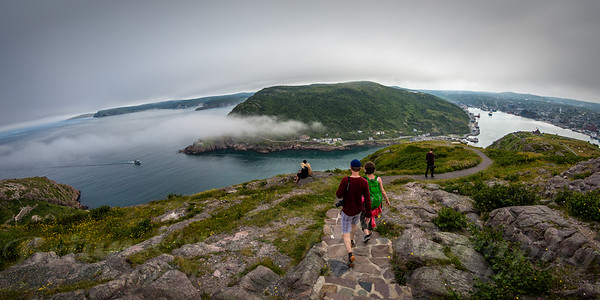 On Top of the World at St John's Newfoundland