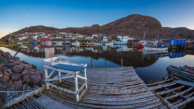 The Splitting Table at Petty Harbour