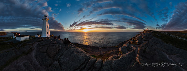October Sunrise at Cape Spear (the Big Picture)