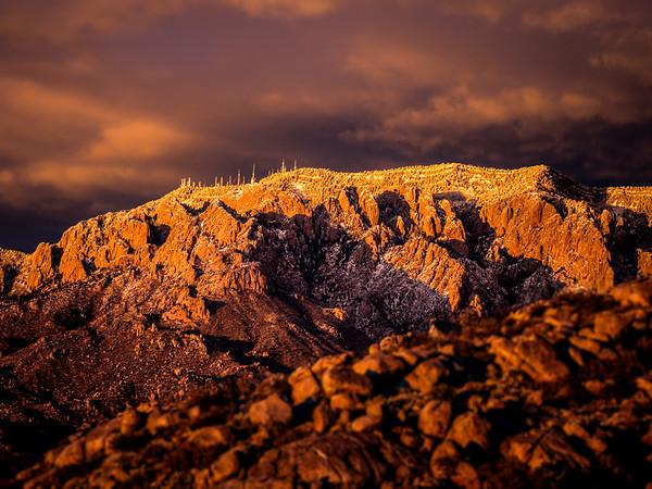 Snowcap Sunset