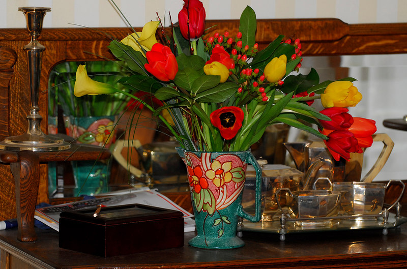 Linda's birthday flowers