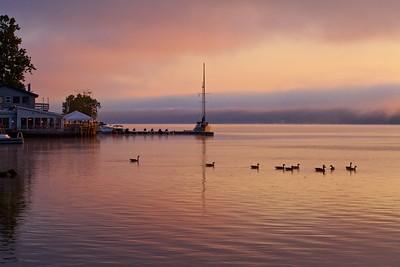 Morning on the Hudson