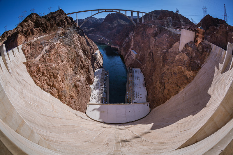 Hoover Dam Wide View