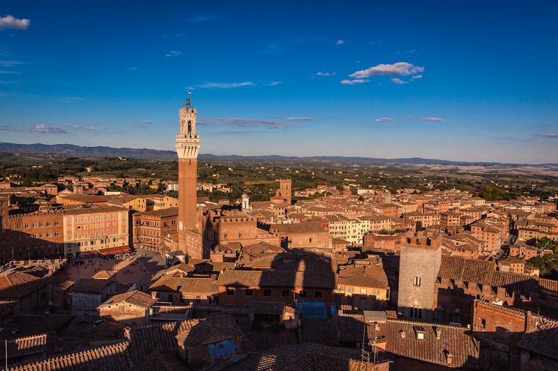 The Sun Sets on Siena