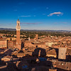 The Sun Sets on Siena