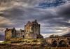 Eilean Donan Castle Late Afternoon - Loch Alsh, Scotland