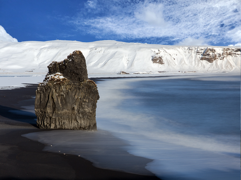 Arnardrangur Seastack, Iceland