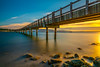 LE 002 Sunset, Taylor Dock, Bellingham WA