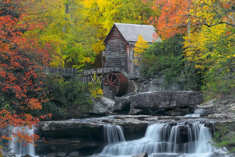 Glade Creek Grist Mill - West Virginia