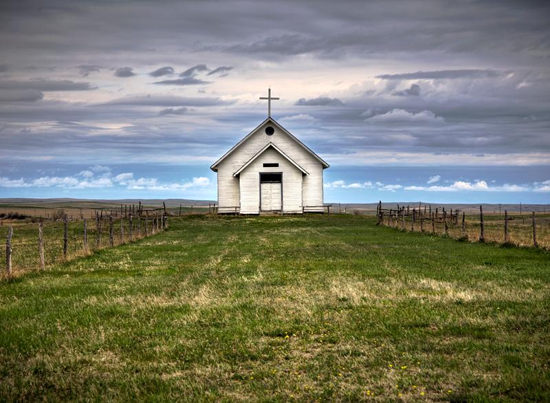 Small Church and Big Country - S. Dakota