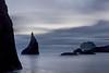 Sea Stacks in Gray - Bandon
