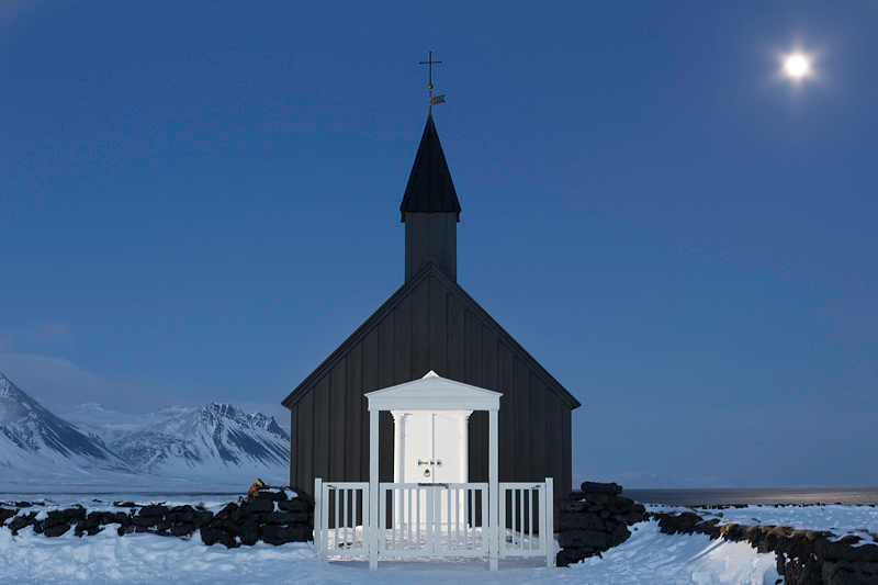 Church at Budir, Iceland
