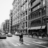 New York City Street - Broadway - Soho - Afternoon Bicycle Ride