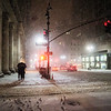 New York City Snow on a Winter Night