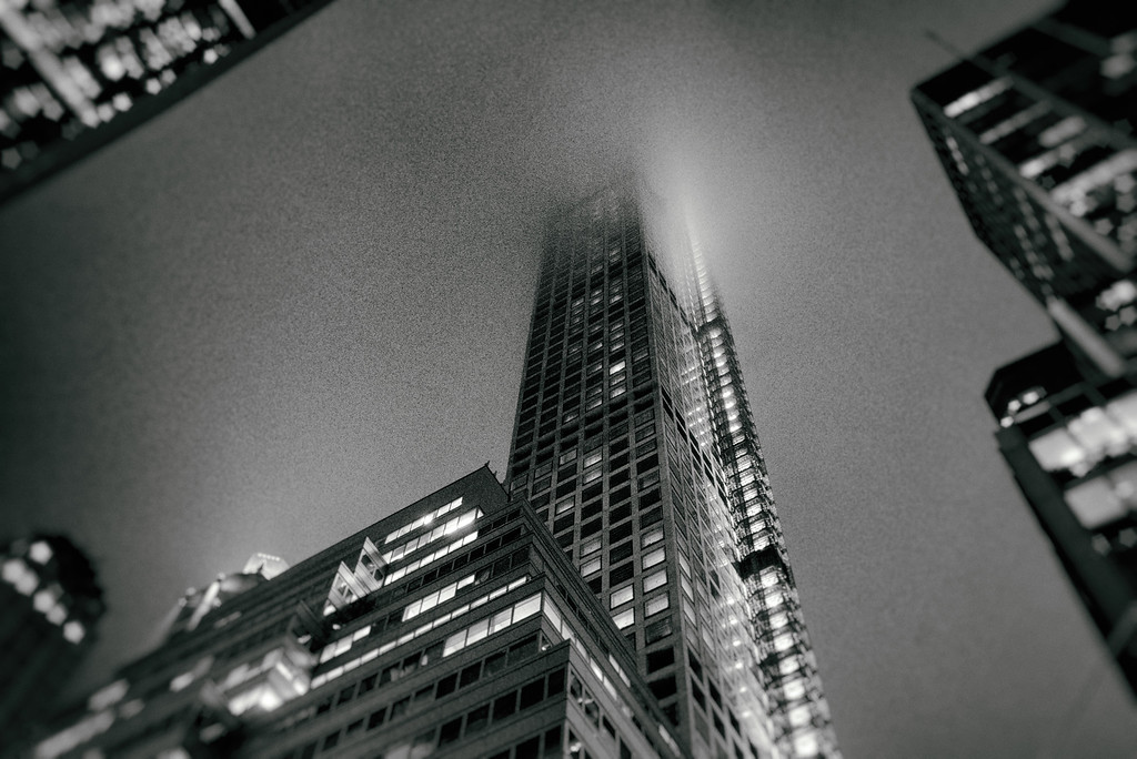New York City - Fog