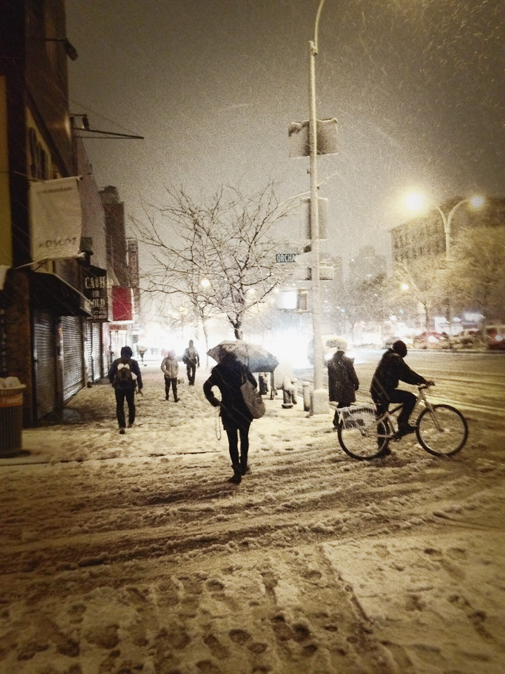 Snow in the City - Manhattan - Lower East Side