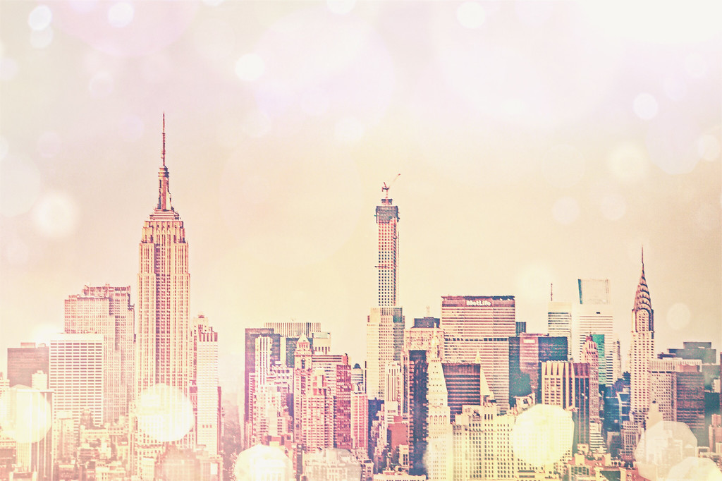 Dreamy New York City Skyline