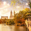 New York City Autumn Colors at Bow Bridge