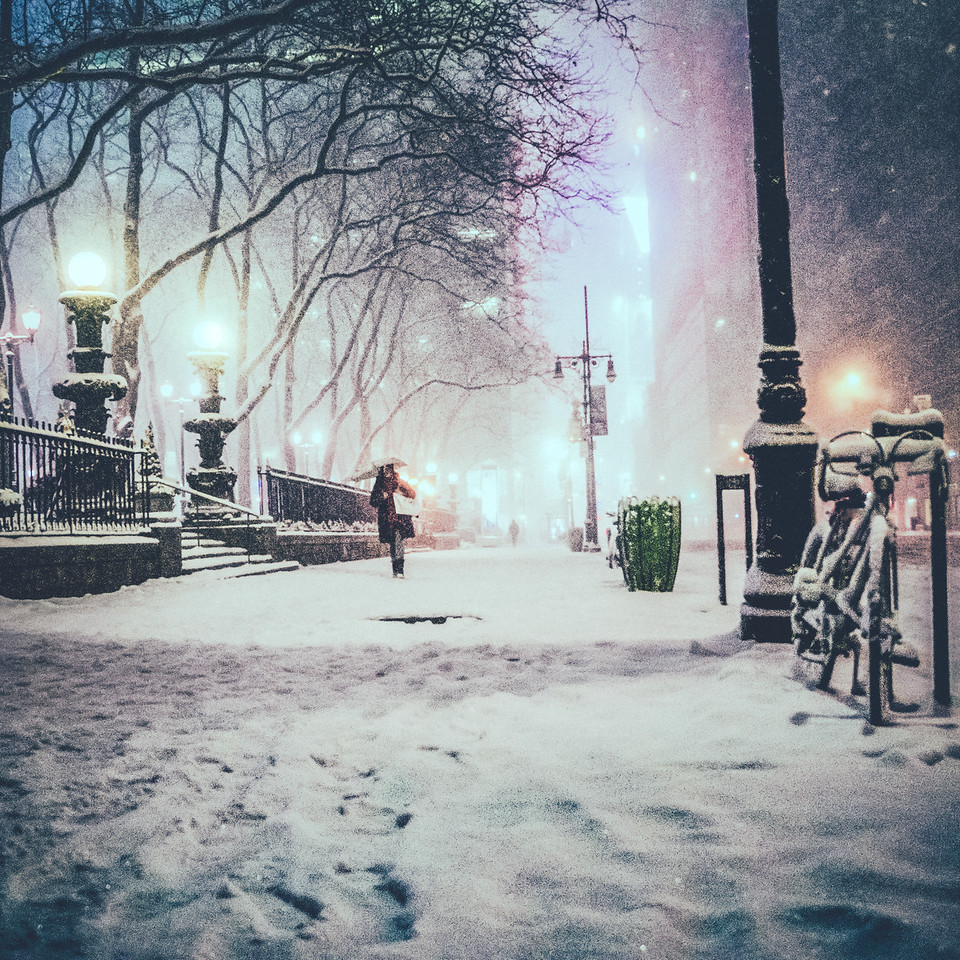 New York City Snow - Magical Night