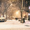 West Village Snow New York City