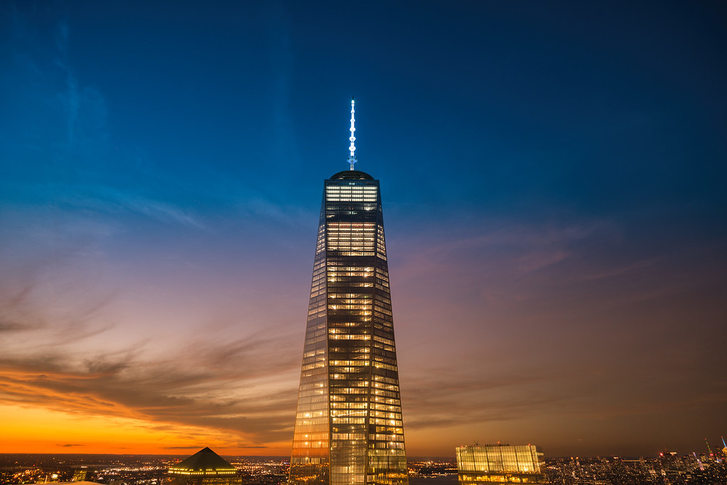 New York City - 1 World Trade Center - Sunset