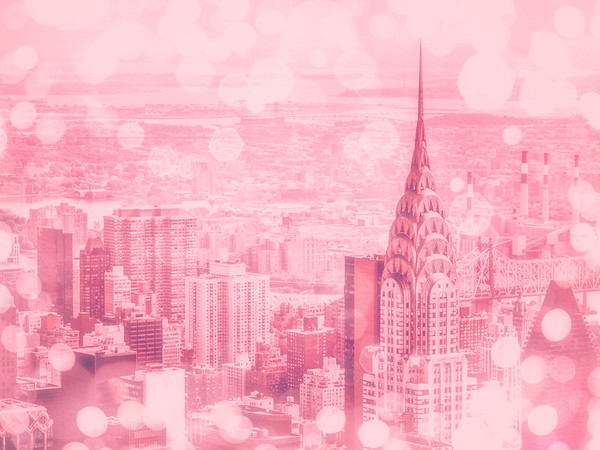 New York City Pink and Bubbly