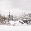 Central Park Winter- Belvedere Castle in the Snow - New York City