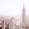Empire State Building and New York City Skyline - Afternoon