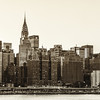 <h2>Chrysler Building and New York City Skyline</h2><br><br>  - By Vivienne Gucwa<br><br>   This has always been one of my favorite views of the Chrysler Building. This particular image was taken while on a boat in the East River. The buildings in front of the Chrysler Building are the buildings of Tudor City.<br><br>   Tudor City has a rather interesting history. Before it was Tudor City, it was known as Goat Hill due to the large amounts of goats that roamed the area in the 1800s. In the mid 19th century, the area was known as Corcoran's Roost, named after the founder Jimmy Corcoran. Violent crime and waterfront piracy dominated the area during the 19th century. It wasn't until the early 20th century that Tudor City took shape when a real estate developer decided to impose his vision of an urban paradise on the area. Its name is a bit of a misnomer since the architecture that dominates Tudor City is mostly neo-Gothic.<br><br>   The area has also been used quite a bit in different films throughout the years such as: The Godfather Part III, Scarface,The Peacemaker, Spider-Man, Spider-Man 2,Spider-Man 3, Splash, Taxi Driver, and The Bourne Ultimatum. <br><br>   ---<br><br>