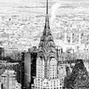 Chrysler Building - New York City - Snow
