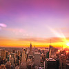 New York City Skyline - Sunset