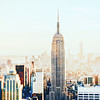 New York City Afternoon Skyline