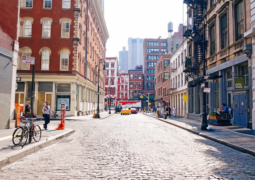 New York City Street - Mercer Street - Soho