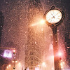 New York City Snow - Flatiron Building