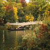 New York City Autumn Boat in Central park