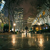 New York at Night - Bryant Park