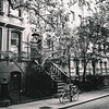 New York City - Perry Street - Black and White